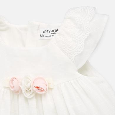 Kleid festlich mit Höschen Mädchen Neugeborene ...
